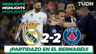 Highlights | Real Madrid 2 - 2 PSG | Champions League - J5 - Grupo A | TUDN