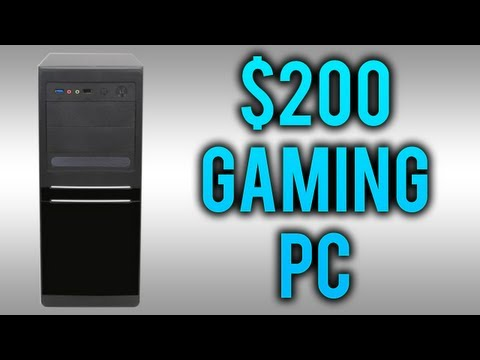 Super Cheap Gaming Computer ($200) 2015 VERSION IN DESCRIPTION