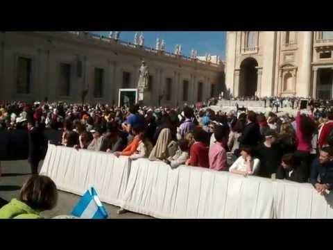 Papal Audience 22 April 2015