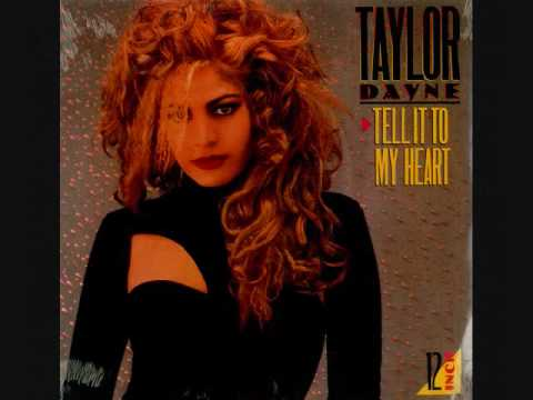 Taylor Dayne - Tell It to My Heart [1996 Remix]