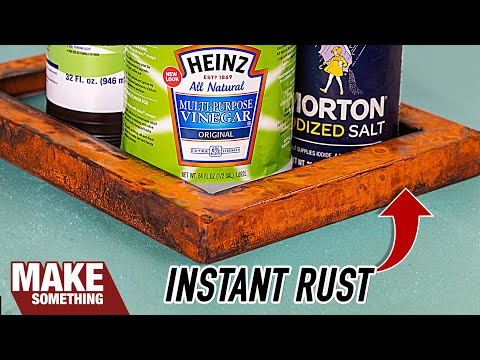How to Make Metal Rust Instantly.