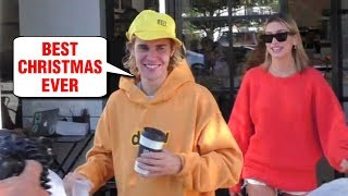 Justin Bieber and Hailey Baldwin's SPECIAL CHRISTMAS 2018