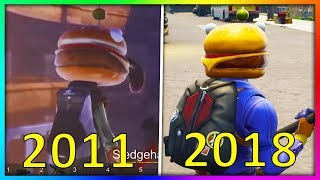What Fortnite Used To Look Like.. (Evolution of Fortnite)