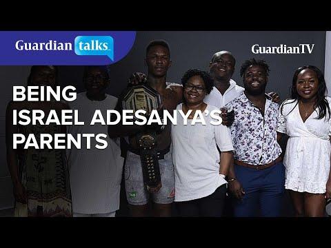 Dad and Mum speaks on being Israel Adesanya's parent