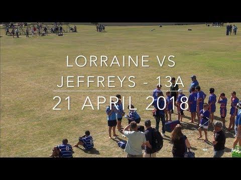 Lorraine vs Jeffreys - 13A