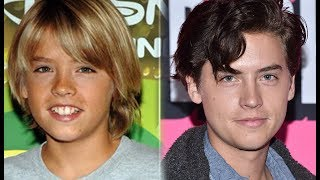 Zack and Cody - Then and Now July 2017 Before and After