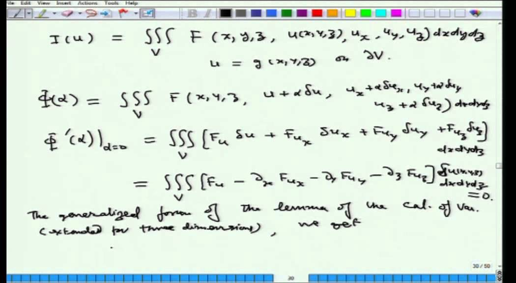 Mod-01 Lec-12 Calculus of Variations and Integral Equations