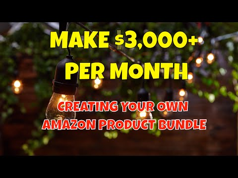 Make $3,000 Per Month Creating Your Own Amazon Product Bundle with Cheap Items from Home Depot