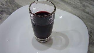 Настойка/ наливка из черноплодной рябины Аронии. Очень вкусная:)