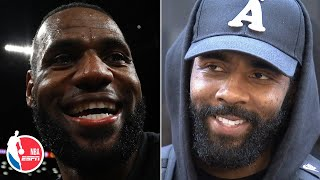 Kyrie Irving: Friendship with LeBron goes far beyond basketball | NBA Sound