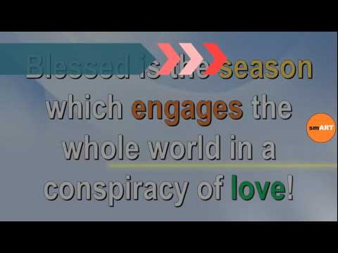 Holiday Greetings - Christmas Greeting Messages - Youtube