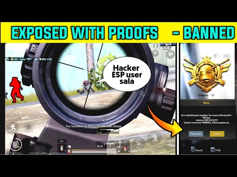 😡 AURA丶Scooby Is Using Hacks Exposed With Proofs   Conqueror With ESP Hack !   ID BANNED