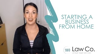 Starting a Business From Home -  All Up In Yo' Business