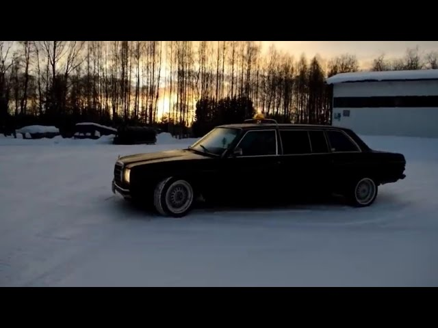 W123 300D Limousine Lang