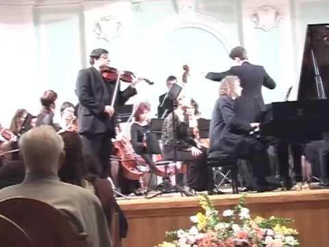 Kapustin. Concerto. Graf Mourja (violin) I mvt