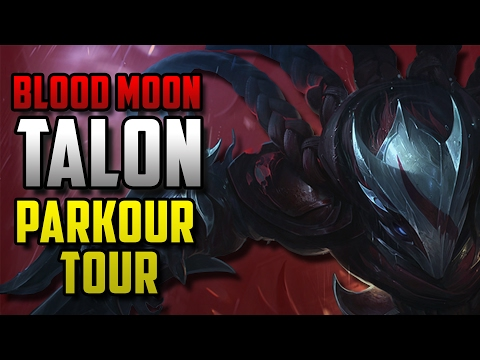 BLOOD MOON TALON PARKOUR TOUR - Unranked To Master S02E08