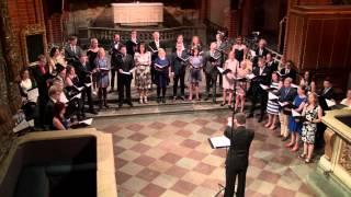 St. Jacob's Youth Choir performing Stjärntändningen by Oskar Lindbe...