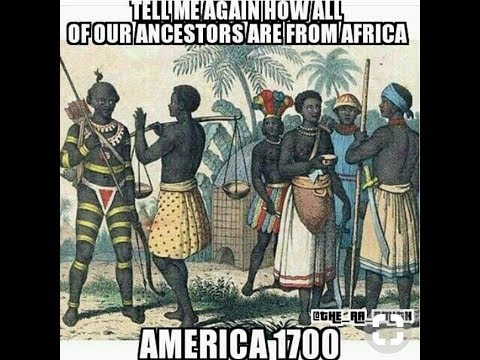 African Americans Are Indigenous To America Not Africa