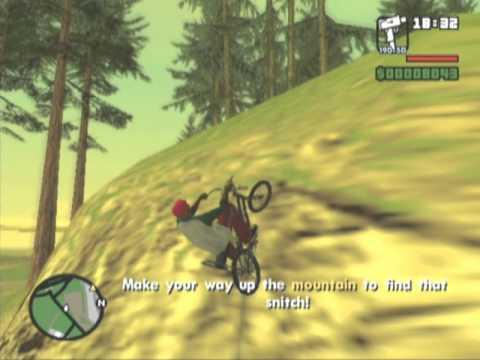 GTA San Andreas Part 17 - the green sabre