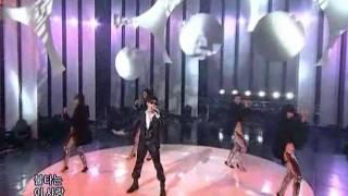 Wheesung - Insomnia (휘성 - 불면증) @ SBS Inkigayo 20090308