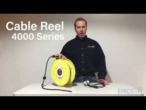 4000 Series Light Industrial Cable Reel