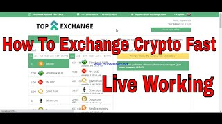 How To Exchange Crypto Fast And Instant Top  Best Crypto Exchanges For All 2020 -Find New Site