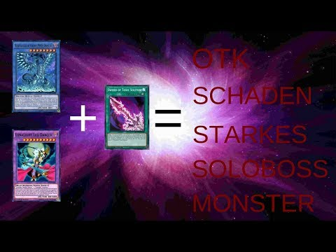 # YU-GI-OH Sword of Toxic Solitude= Solo-Boss-Monster mit Durschlag