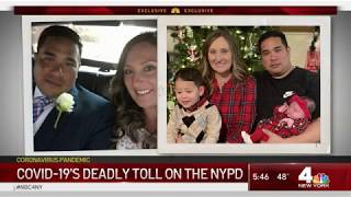 COVID-19's Deadly Toll On The NYPD