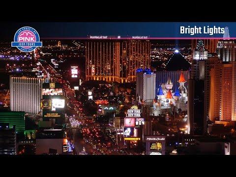 Las Vegas Bright Lights City Tour - Evenings | Pink Jeep Tours