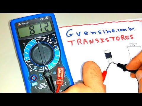 Transistores na Prática! - Identificando, Medindo e Testando o Transistor