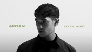 Afgan - say i'm sorry (Official MV)