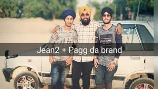 bhangra on jean 2 and pagg da brand ranjit bawa ik tarre wala easy steps easy bhangra