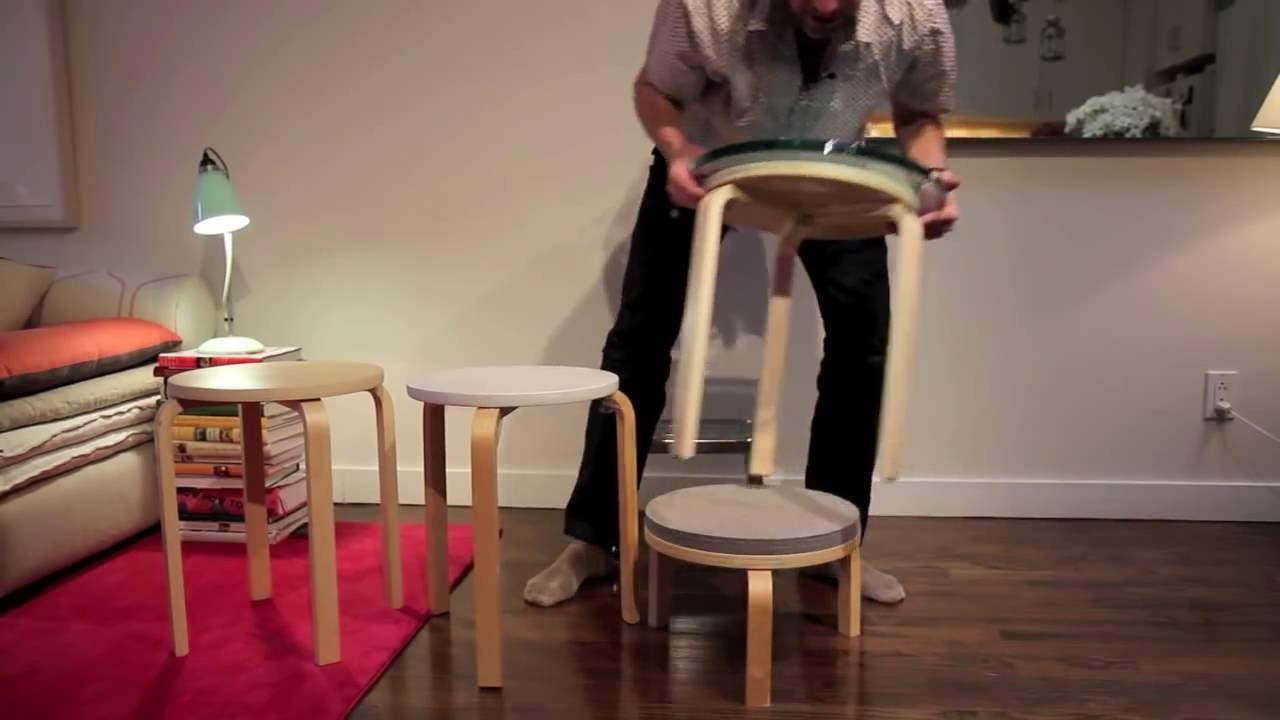how to hack an ikea frosta stool with maxwell ryan youtube. Black Bedroom Furniture Sets. Home Design Ideas