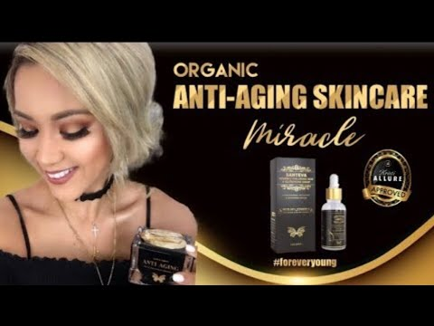 ANTI-AGING ORGANIC SKINCARE FOR SENSITIVE SKIN | SANTEVA HEALTH & BEAUTY PRODUCTS | HOW TO GLOW ✨ thumbnail