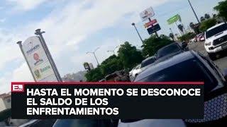 Detalles de las balaceras en Sinaloa
