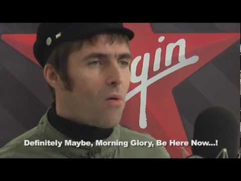 Liam Gallagher interview on Oasis split on Virgin Radio Italia 13.11.2009