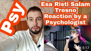 Esa Risti - Salam Tresno ( Live ) Tresno ra bakal ilyang Reaction by a Psychologist