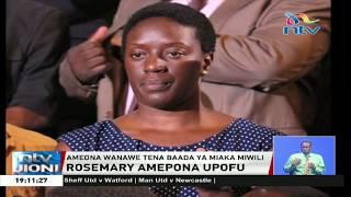 Bintiye Raila Odinga, Rosemary amepona upofu