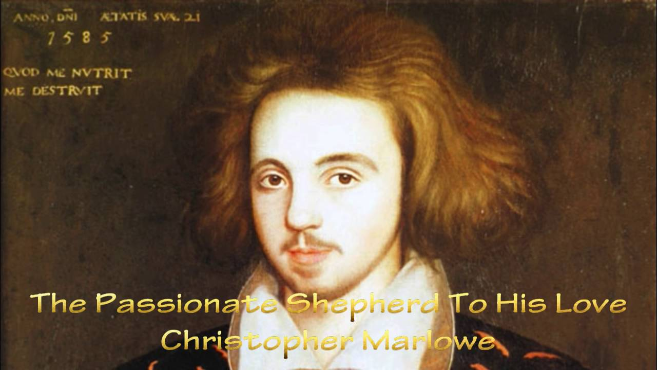 christopher marlowe the passionate shepherd