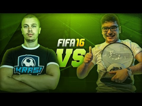 KRASI VS THE WORLD CHAMPION OF FIFA 16 - BEST FIFA 16 BATTLE OF ALL TIME - CLASH OF THE LEGENDS