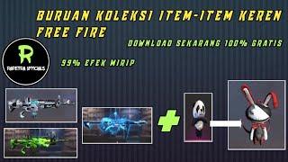 SKIN GRATIS FREE FIRE‼️CONFIG Full Skin Senjata Langkah & Tas Season 1 [ Tas Panda ]