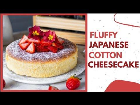 fluffy-japanese-cotton-cheesecake-recipe- -homemade-cheesecake-simple-recipe- -bake-with-shivesh