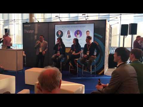 'Accelerate Modern Workplace Success' Microsoft Tech Summit Stockholm Panel