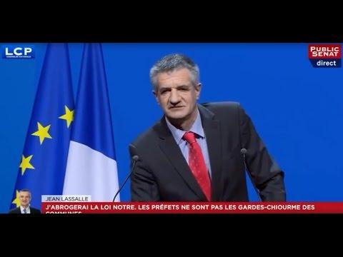 Jean Lassalle électrise le Congrès de l'association des maires de France