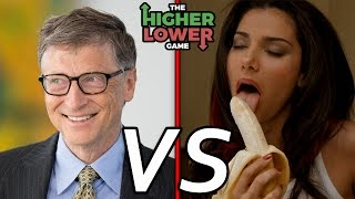 Bill Gates Vs. Bokep?! The Higher Lower Game Indonesia