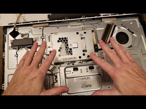 SSD and RAM upgrade on an HP All in One model# 23-q120