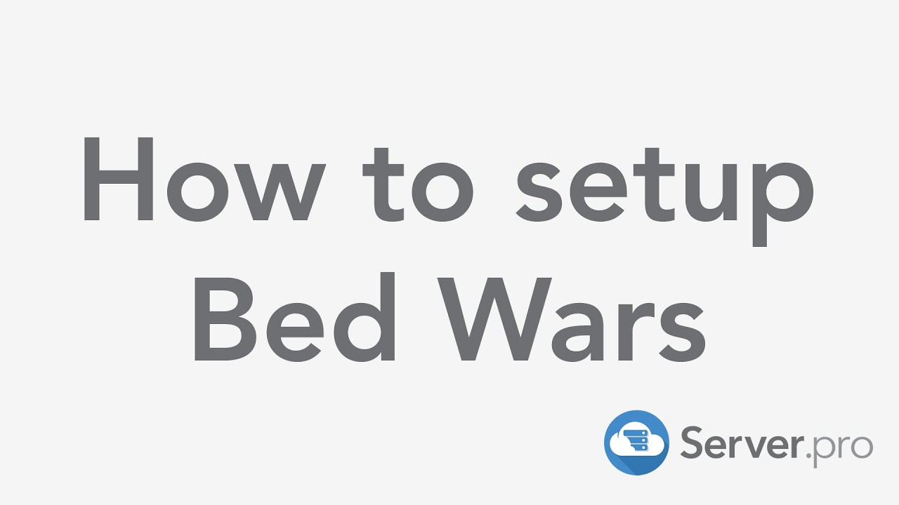 How to setup Bed Wars - Minecraft Java