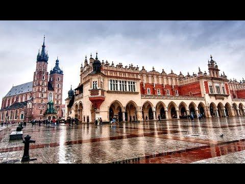 Тур по Европе, Часть 2 - Прогулка по Кракову (Польша)