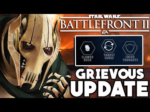 General Grievous News! Claw Rush, Thrust Surge and More! Star Wars Battlefront 2 thumbnail