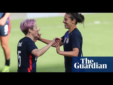 USWNT rout Mexico ahead of Tokyo Olympics